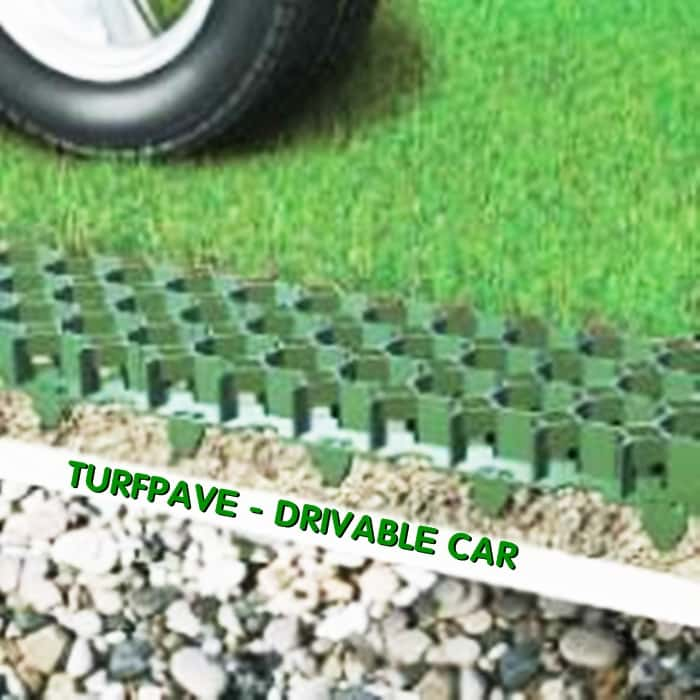 Tấm nhựa trồng cỏ - Turfpave Drivable Care